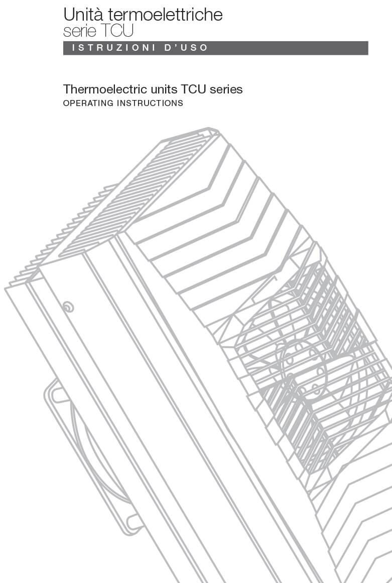 Unità termoelettriche TCU CC istruzioni